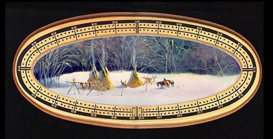 Early Winter Tipi